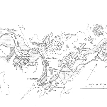 Tomlinson' map of Lower Avon river deposits